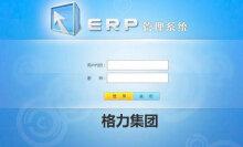 【管理软件开发】ERP系统(格力ERP)