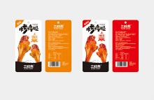 烤鸭腿零食包装