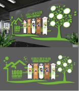 校园文化墙设计效果图