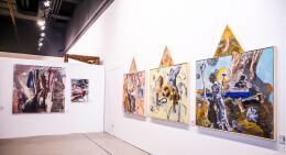艺术品企业文化墙设计