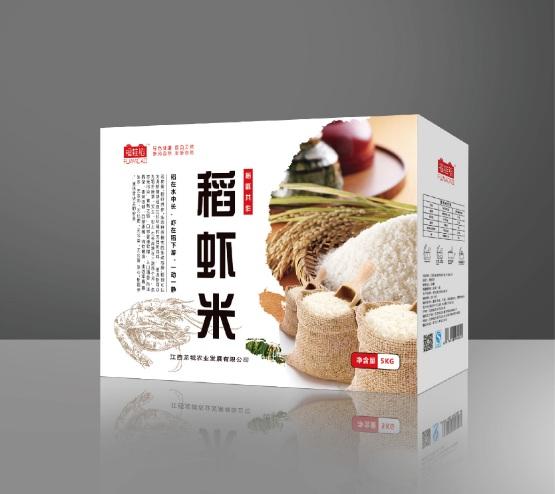 稻虾米包装设计-效果图