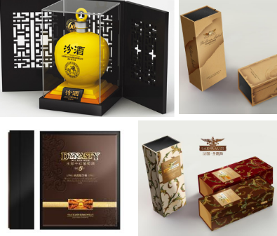红酒礼盒包装如何设计