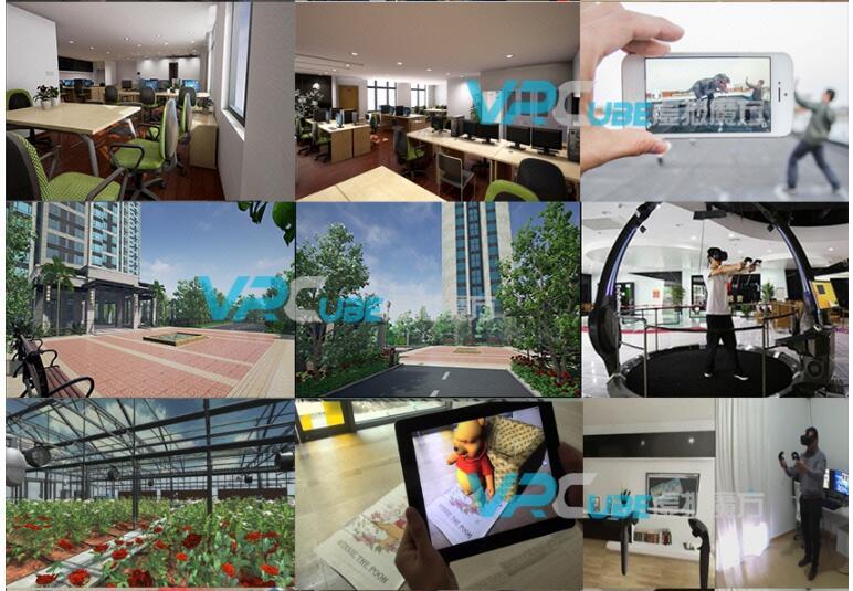 720全景拍摄定制开发VR场景样板汽车景区城市展馆