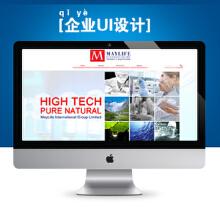 威客服务:[37195] 简洁大气企业网站设计
