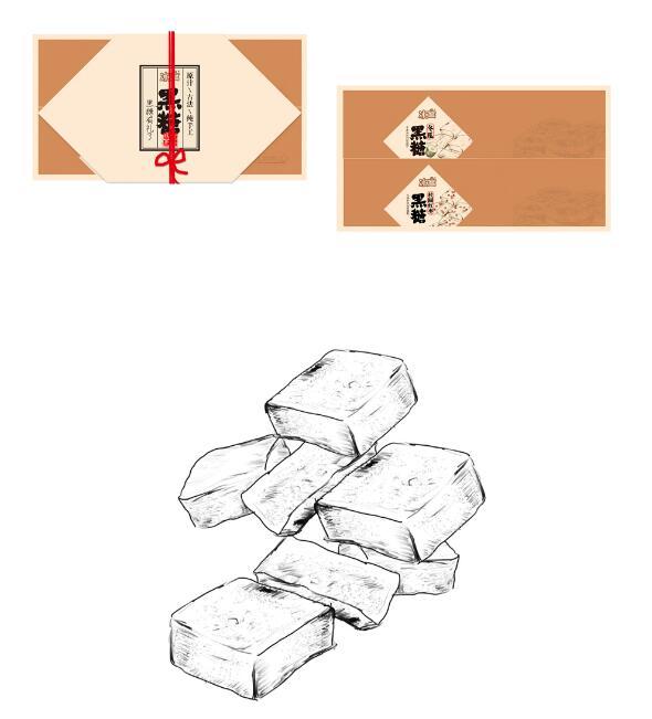 黑糖包装设计