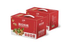 干果包装设计 核桃包装箱设计