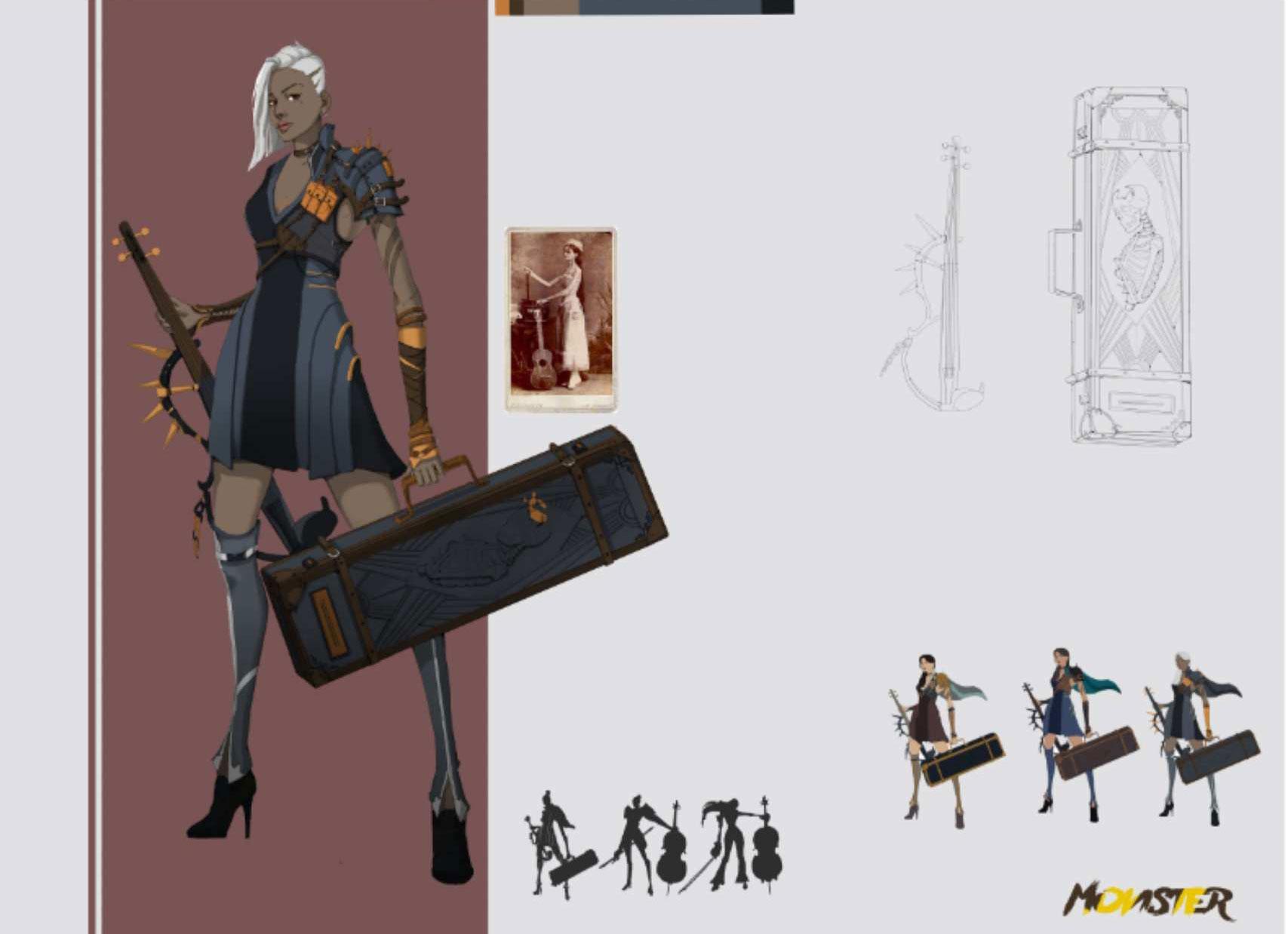 游戏原画设计 角色设计 吉祥物设计
