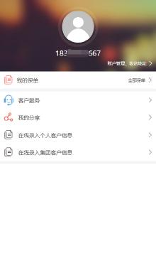 中华联合保险在线填报系统