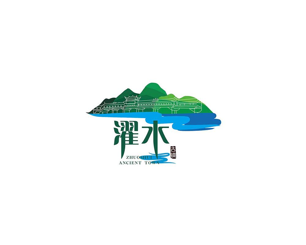 濯水-logo设计