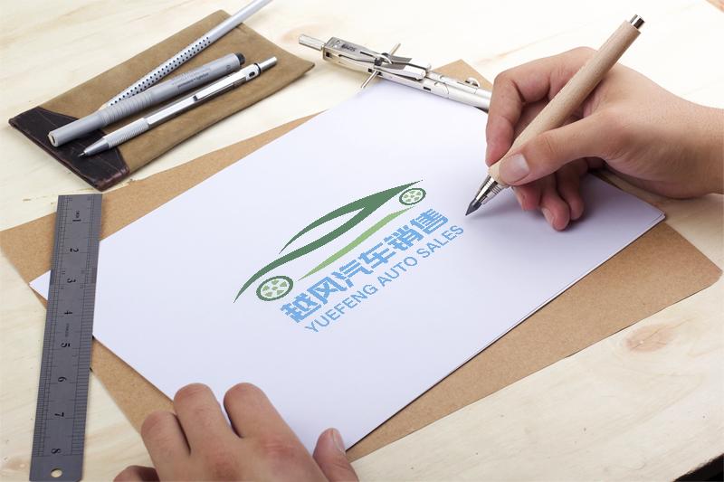 越风汽车销售logo