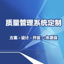 质量管理系统定制开发