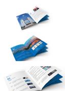 桥梁工程建筑宣传册设计