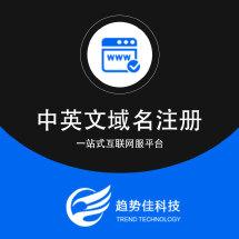中英文域名注册