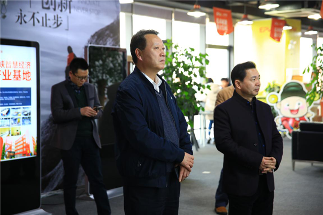 集美区副区长刘海闽莅临一品威客走访调研