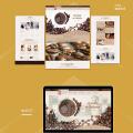 【网站定制开发】 咖啡网站 咖啡订购 定制网站