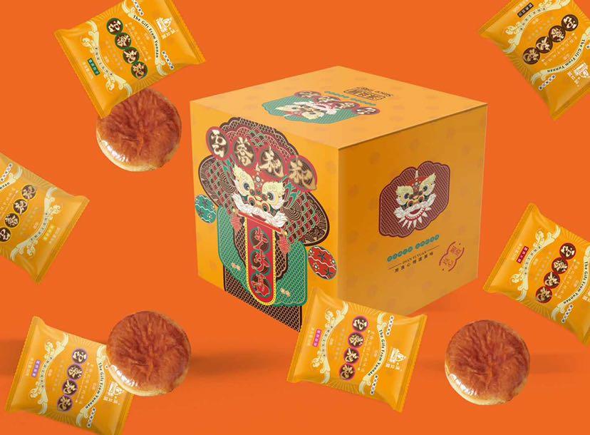 鲜花月饼包装/设计师张玉权
