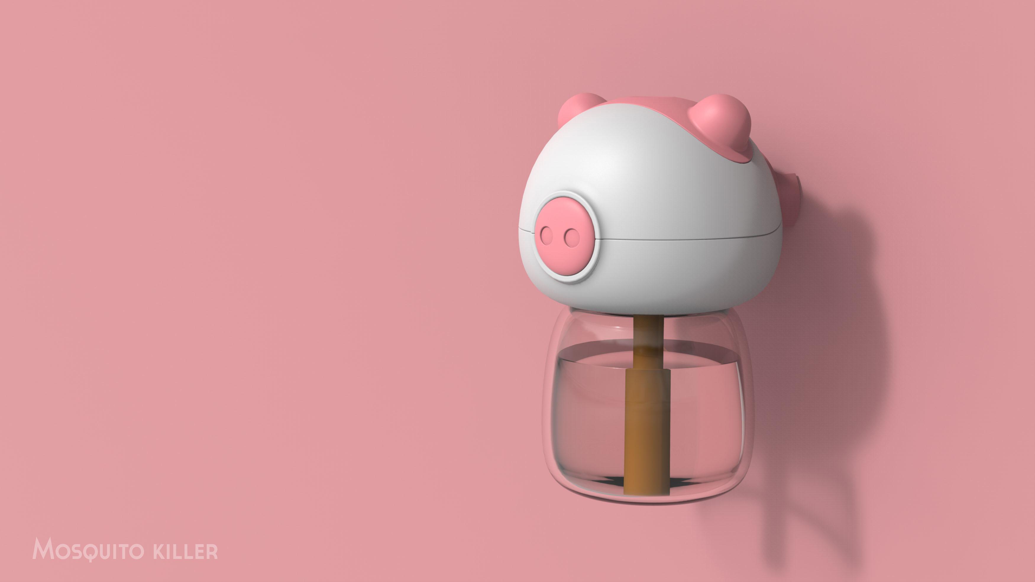 小猪蚊香液发热器