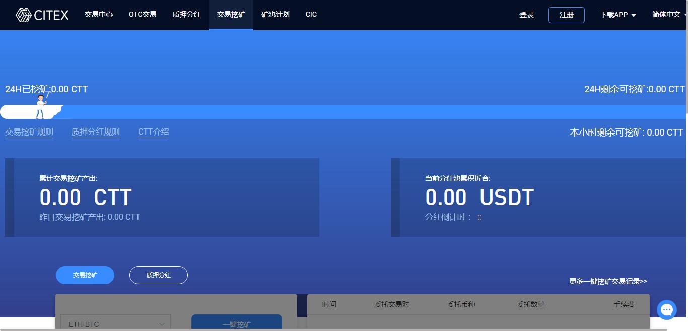 CITEX全球數字資產交易平臺