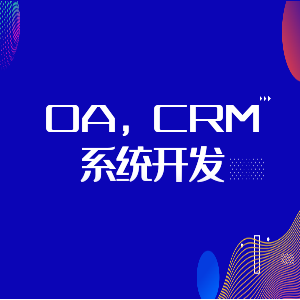 OA,CRM系统开发