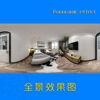 全景效果图绘制家装工装效果图绘制VR效果图展示效果绘制设计