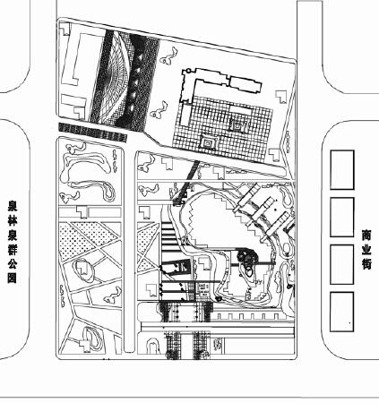 手绘建筑园林及室内设计图