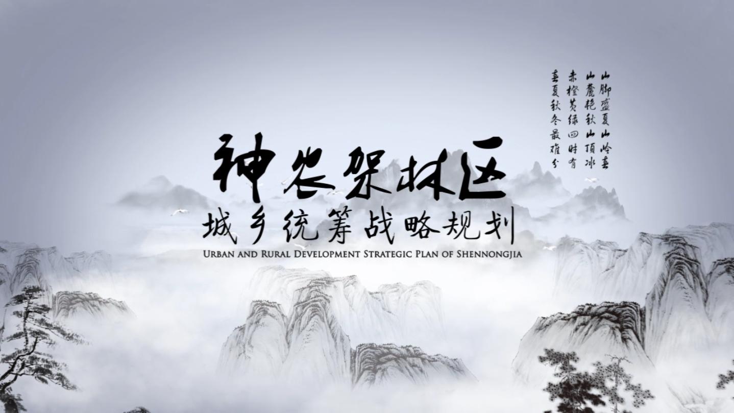 神农架林区《城乡统筹战略规划》项目宣传片