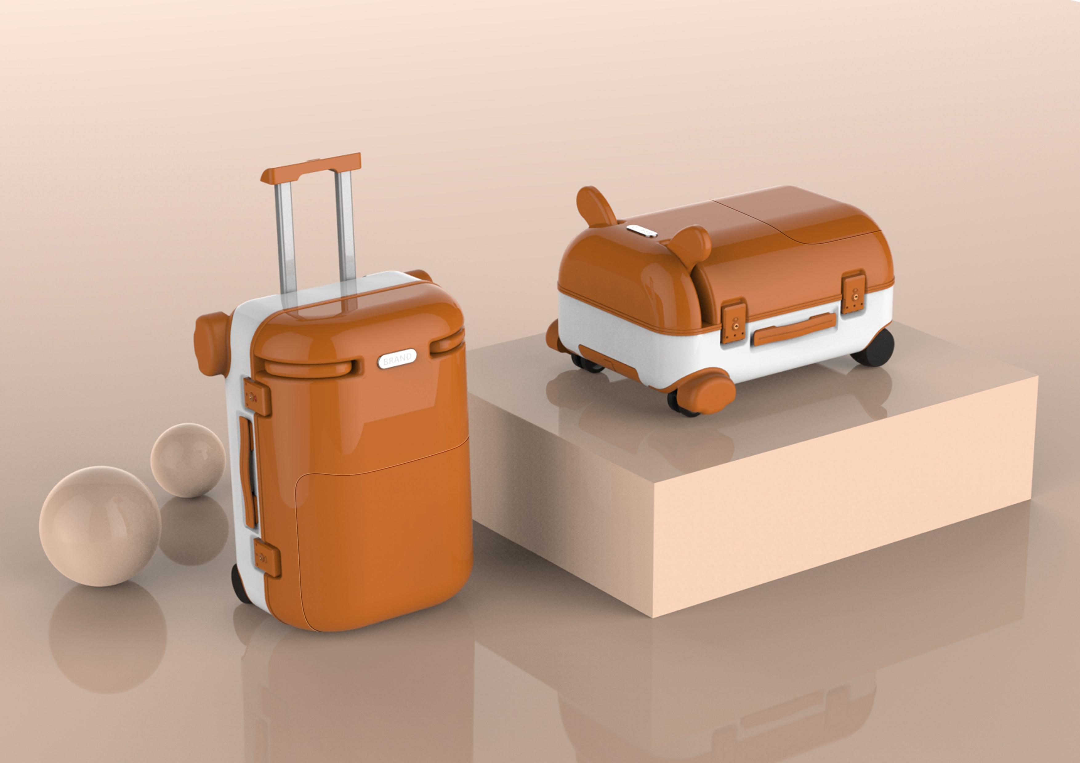 智能儿童行李箱