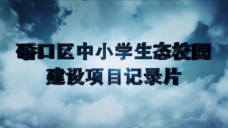 武汉市硚口区教育局《中小学生态校园建设》项目纪录片