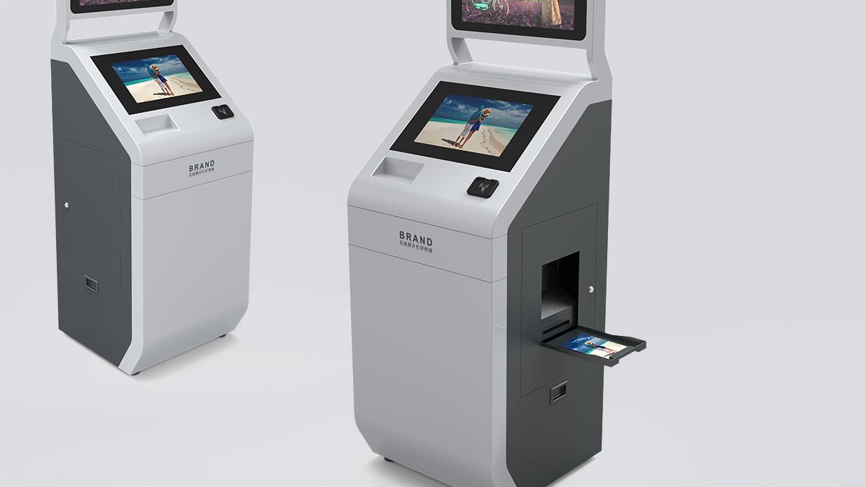 钣金设备设计-智能照片打印终端设计