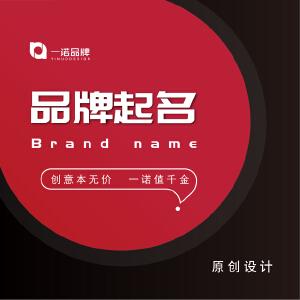 品牌起名公司起名产品名称网店取名店铺起名