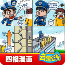 威客服務:[83457] 四格漫畫、宣傳漫畫