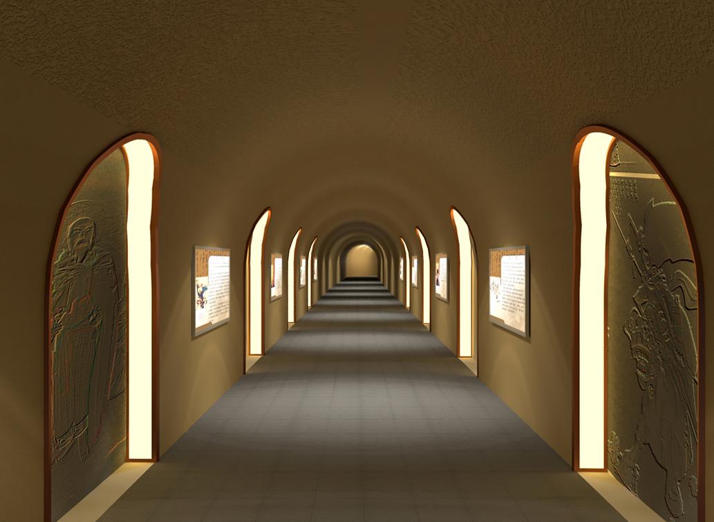 榆林地下展厅概念设计