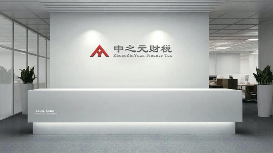 郑州中之元财税品牌VI设计