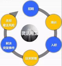 人力资源公司灵活用工平台OEM|APP小程序公众号