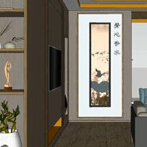室内设计装修方案的三维立体动画展示视频(案例见同名抖音或淘宝店铺)