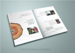 如何让企业画册设计的更具有特色?