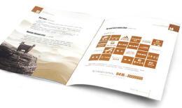 企业画册设计中的对比技巧都有哪些注意事项