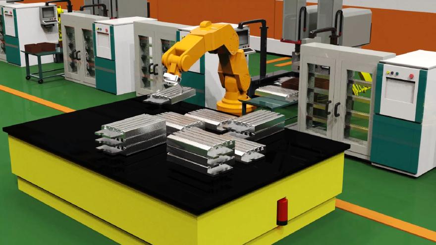 三维3d机械原理拆分动画视频安装组装流程演示动画