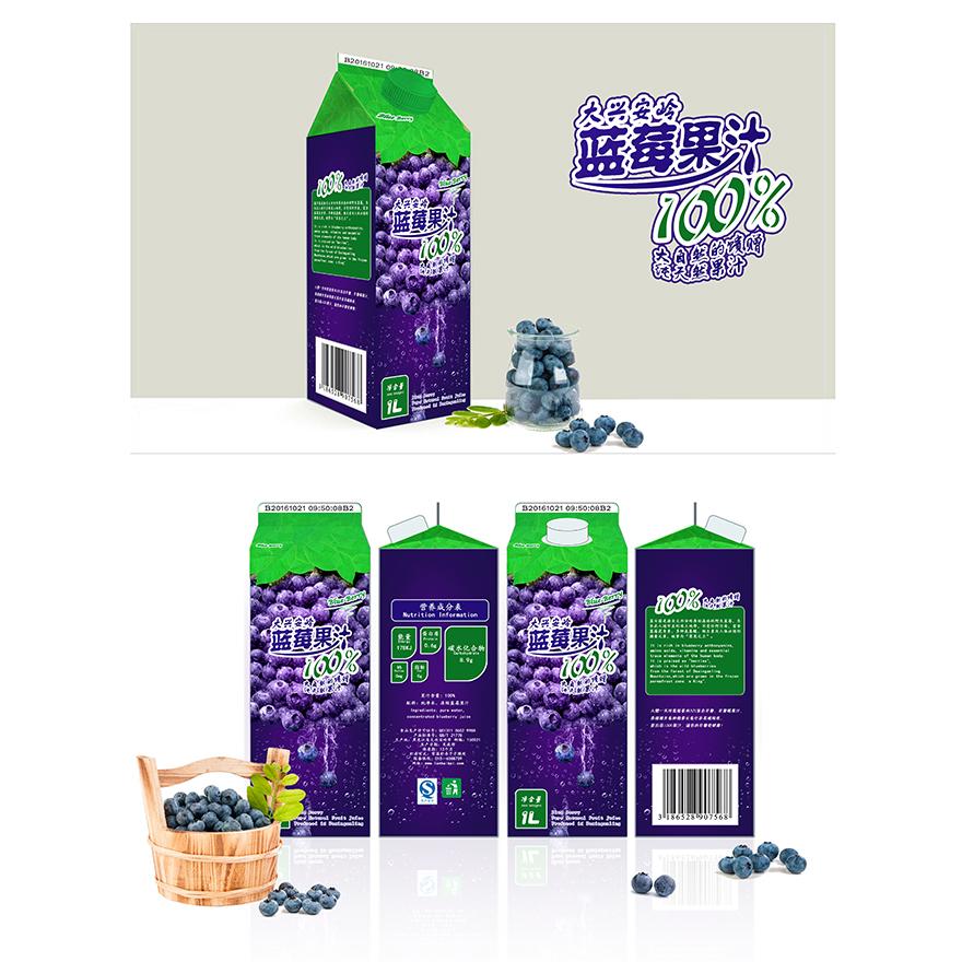 大兴安岭蓝莓果汁