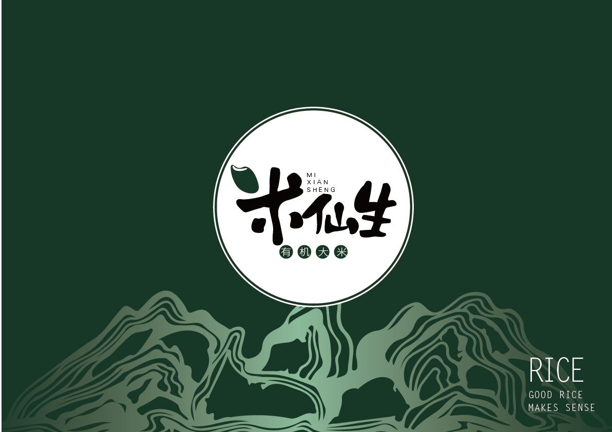 米仙生LOGO设计