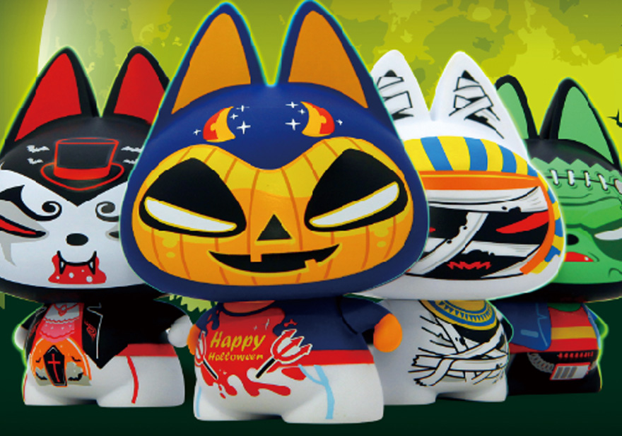 《拽猫》吉祥物品牌设计