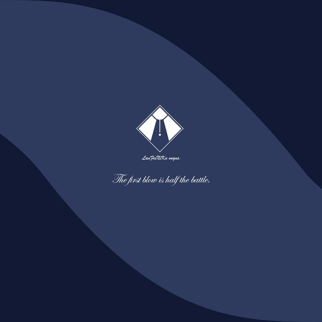 西服店logo设计,店铺海报设计