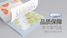 食品类画册设计要注意什么?