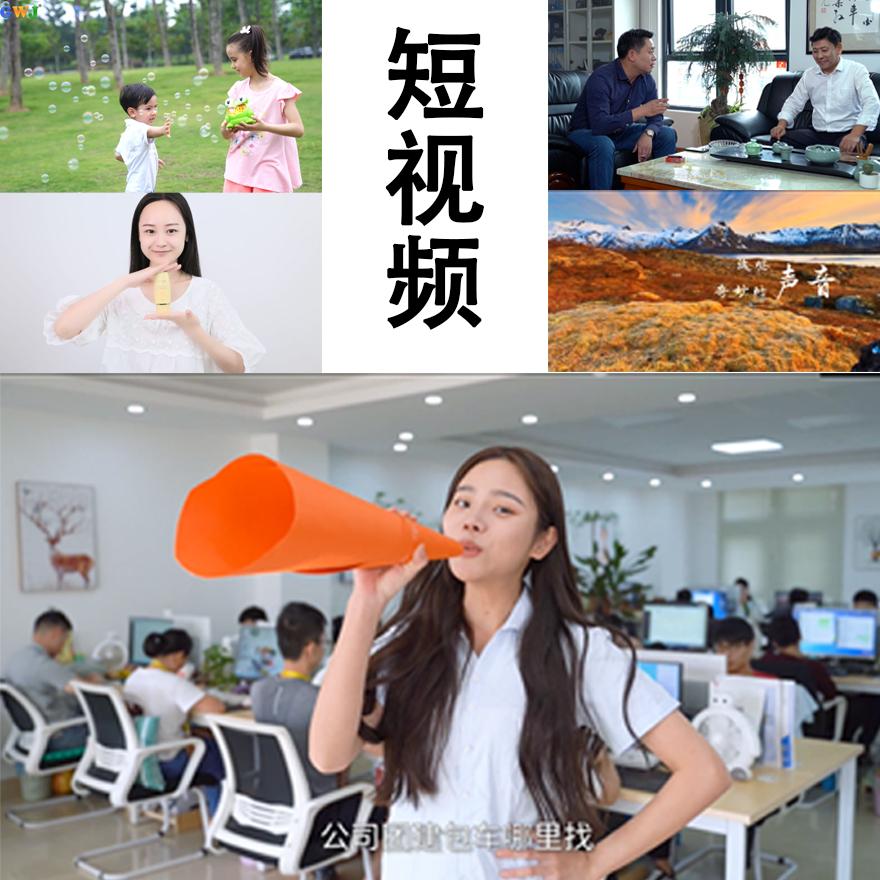 短视频/电商产品宣传视频/企业管理APP视频宣传等