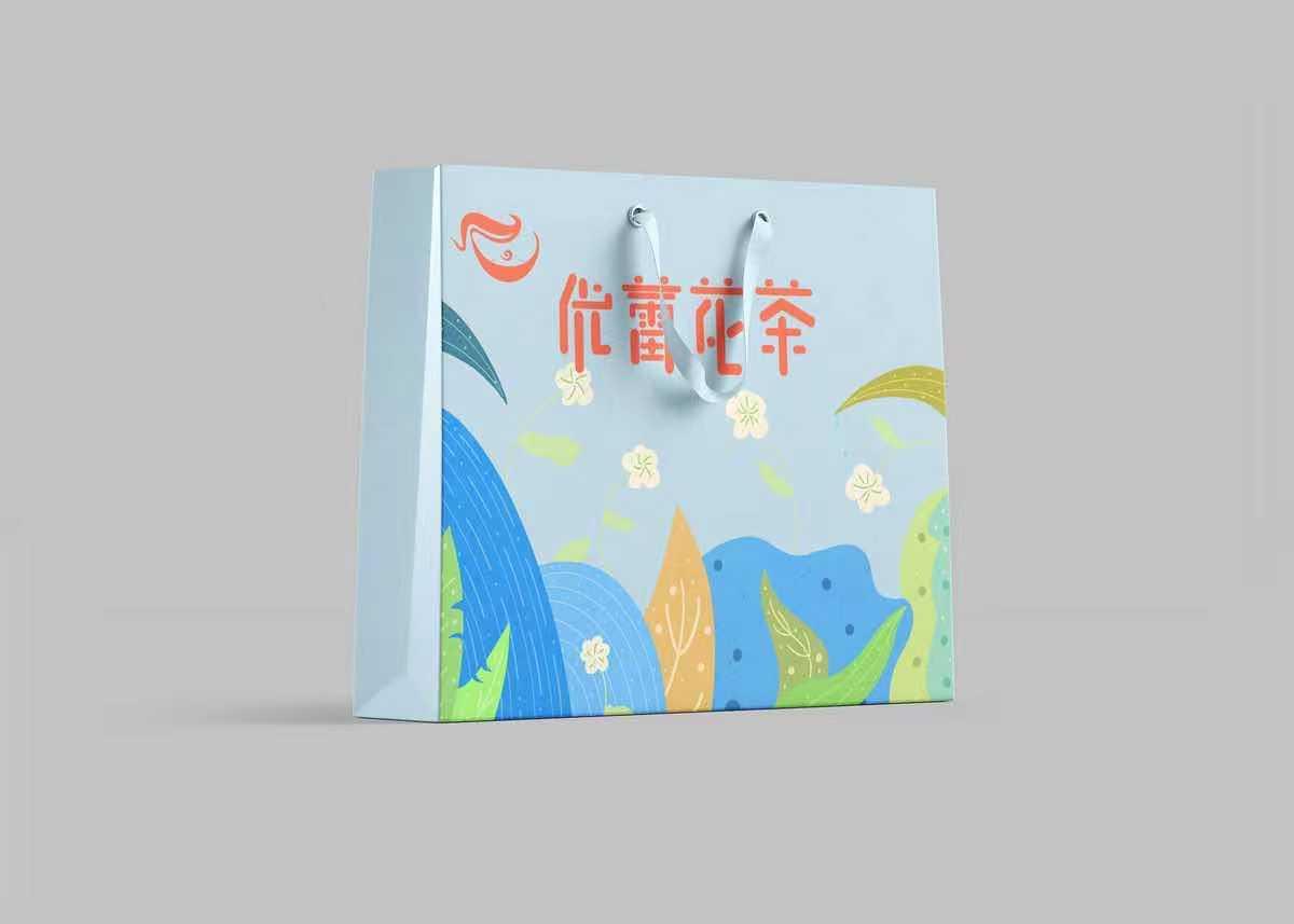 优蕾花茶包装设计