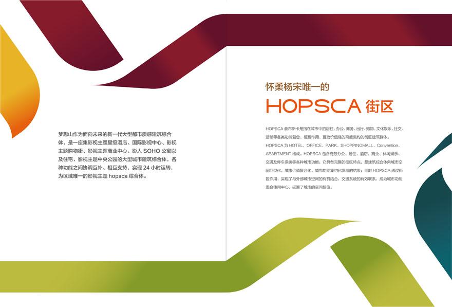 住总集团项目宣传册设计