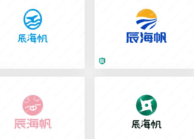 """既浪漫又雄伟的""""辰海帆""""logo,值得收藏"""