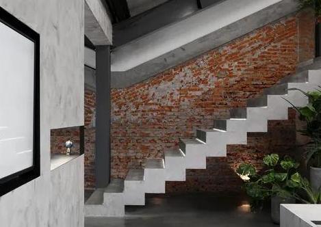 办公室装修设计清水混凝土 凸显自然魅力