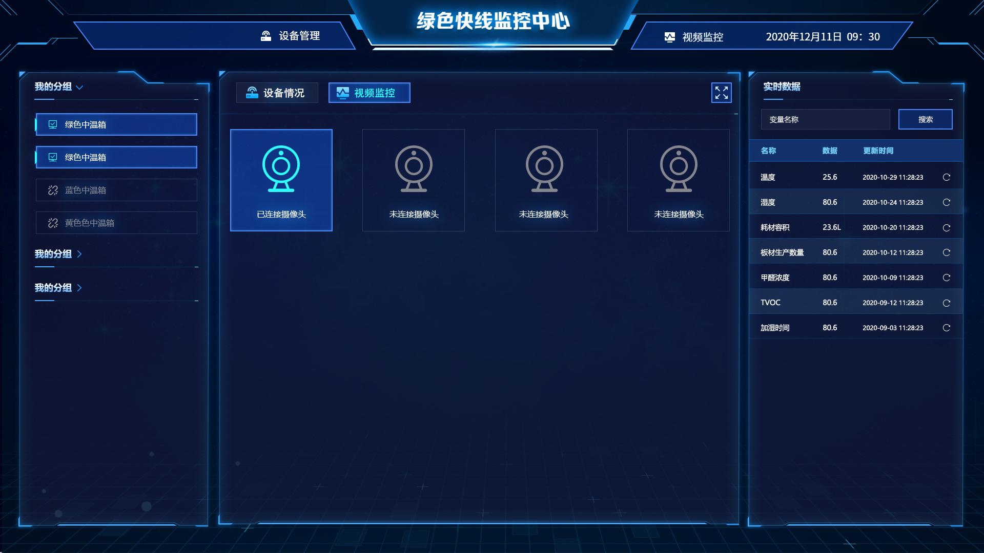 【物联网类】物联网PC版展示