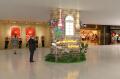 国瑞购物城包柱设计